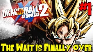 Dragon Ball Xenoverse 2 (PS4 Gameplay) - Episode 1 | THE WAIT IS FINALLY OVER!