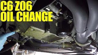 Corvette C6 Z06 - Oil Change Procedure