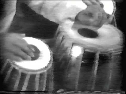 Jnan Prakash Ghosh tabla solo and demonstration.