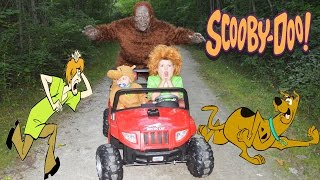 Scooby Doo and Big Foot too with Shaggy a  Silly Scary Cartoon Parody Adventure Kids YouTube Video