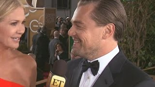 Leonardo DiCaprio Brought A Surprise Date to the Golden Globes!