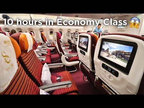 Xxx Mp4 FIRST TIME FLYING THAI AIRWAYS ECONOMY CLASS Airbus A350 Tokyo Bangkok Singapore 3gp Sex