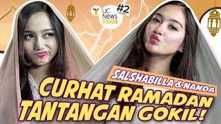 Salshabilla VS Nanda Ilusi Lapar saat Ramadan, Kurma atau Kecoa? #UCNewsShow S2 Ep2