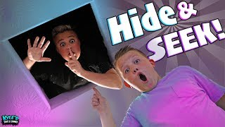Hide and Seek Extreme Smallest Hiding Spot Surprise Challenge!