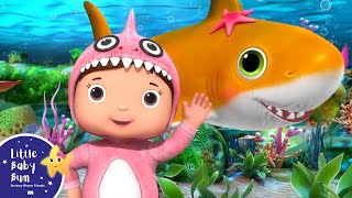 Baby Shark Original | Animal Songs for Kids | Little Baby Bum