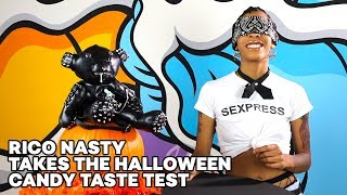Halloween Candy Blind Taste Test with Rico Nasty
