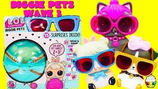 LOL Surprise BIGGIE PETS WAVE 2 Cotton Tail QT, Spicy Kitty, DJ K9
