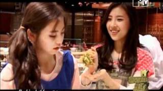 [Vietsub] MiSo Sohee's sulk eating - MTV WG S2 Cut