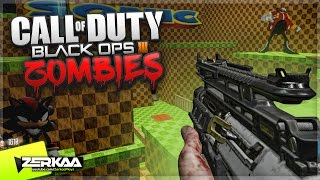 SONIC THEMED ZOMBIES MAP! (Black Ops 3 Custom Zombies)