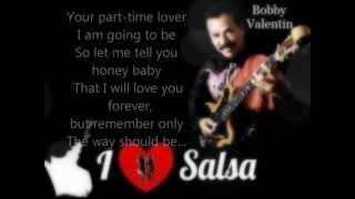Amor A Medio Tiempo - Bobby Valentín (Letra)