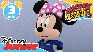 Mickey and the Roadster Racers | The Stolen Painting 🖌- Magical Moment | Disney Junior UK