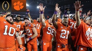 The Real Reason Clemson Wants To Win | Inside The National Championship