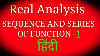 Uniform continuity of function ( SEQUENCE OF FUNCTION-1)  FOR./CSIR NET/JAM/GATE,/M.SC./B.SC.