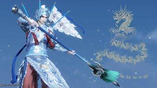 京劇風趙雲(Zhao Yun Beijing Opera DLC Costume) 真・三國無双8 コンボ Dynasty Warriors 9 Combo