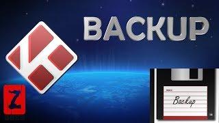 Kodi 17 -  Backup