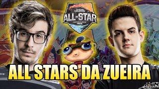 ALL STARS DA ZUEIRA #2 - REVOLTA E KAMI CARREGANDO O BRASIL