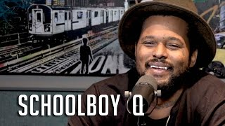 ScHoolboy Q Talks How He Got Kanye West on his Song, He Almost Quit Rapping + Couldn't Read Until 9!