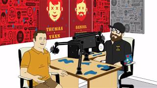 "Tom and Dan Toons! - Season #4 - Episode #13 - ""Pressure Washed"""