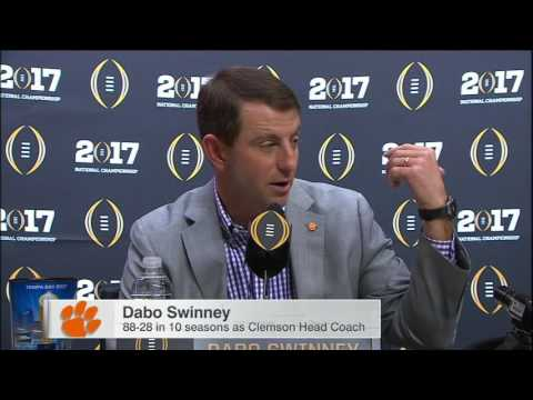 Dabo gave Saban gift card after loss promised a rematch