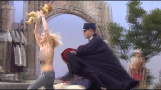 Holy Femen! Topless activist snatches baby Jesus from Vatican at Christmas