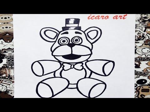 Xxx Mp4 Como Dibujar A Freddy Peluche How To Draw Freddy 3gp Sex