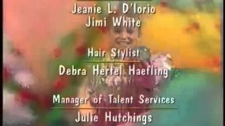 Barney in Outer Space Credits (1998)