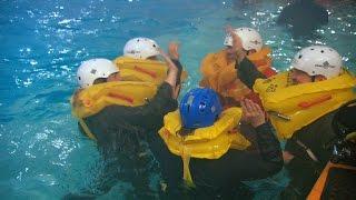 Water survival class boosts team bonding