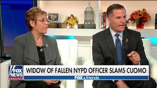 NYPD Widow Blames Cuomo for Pardon of Husband