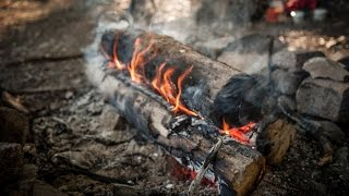 Siberean Survival fire that lasts all night