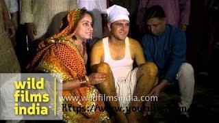 'Haldi' rituals of a Kumaoni wedding