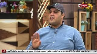 قهوة أشرف -  أحمد  فتحي يحكي عن أسلوبة الخاص في الأكل