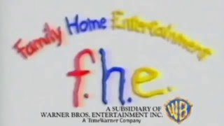 Family Home Entertainment Paintbrush Logo With Warner Bros. Shield (2016-present) HD