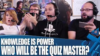 Knowledge Is Power - Who Will Be The Quiz Master?
