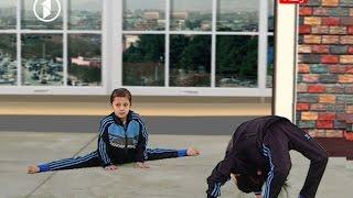 Gulbang - Afghan gymnast kids گلبانگ - کودکان جمناستکباز افغان