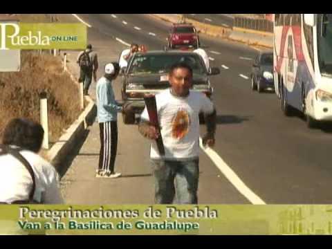 Peregrinaciones de Puebla a la Basílica de Guadalupe