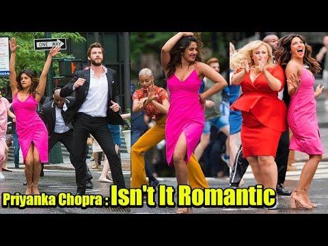Xxx Mp4 Priyanka Chopra Lets Her Hair Down SHOOTING With Liam Hemsworth On NYC Isn T It Romantic 3gp Sex