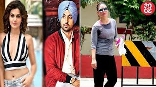 Taapsee -Diljit To Work Together In A Sports Film | Kareena Sweats It Out At The Gym