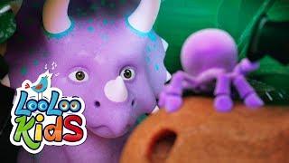 Rain, Rain, Go Away (Dinosaurs) - THE BEST Songs for Children | LooLoo Kids