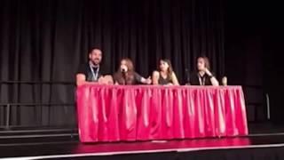 Critical Role panel with Matt, Laura, Travis & Marisha @ GenCon 2016 [Spoilers E61]