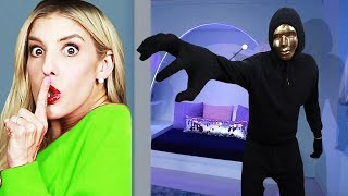 Hide and Seek GAME MASTER Spy Challenge in Real Life for 24 HOURS!