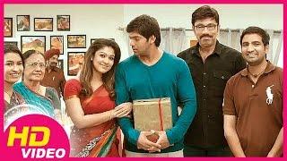 Raja Rani | Tamil Movie | Scenes | Clips | Comedy | Songs | Nayanthara celebrates Arya's birthday