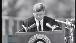 John F. Kennedy excelente discurso en American University subtitulado