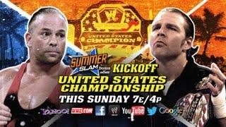 SummerSlam 2013 Kickoff - Dean Ambrose vs. Rob Van Dam