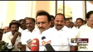 Tamil Nadu Legislative Assembly to convene immediately: M.K.Stalin