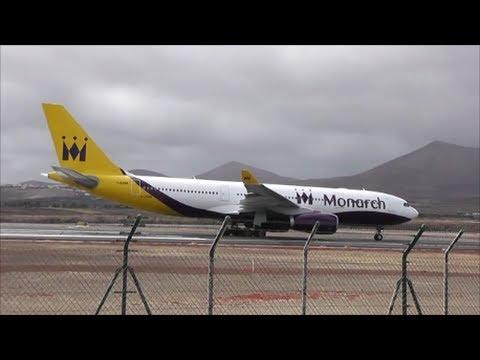 Planes at Lanzarote, Arrecife Airport | 30/05/13