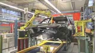Mercedes Benz  car Factory