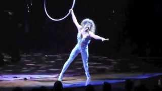 Cirque du Soleil - Amaluna w/ Marie-Michelle Faber - Vocal aerial Hoop - Cerceau Chanté - Live