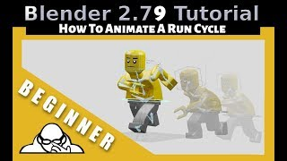 How To Animate A Run Cycle In Blender 2.79