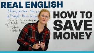 Vocabulary & Tips to SAVE MONEY