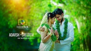 Adharsh + Sreedevi Wedding Story